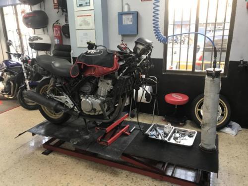 Honda CB500S Mantenimiento de horquillas